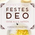 Festes Deo »French Vanilla« verpackungsfrei oder als Stick