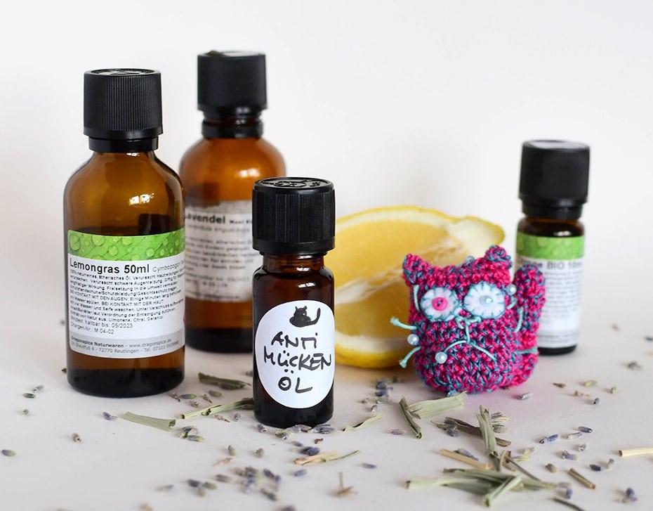Anti-Mücken Duftmischung aus ätherischen Ölen | Schwatz Katz