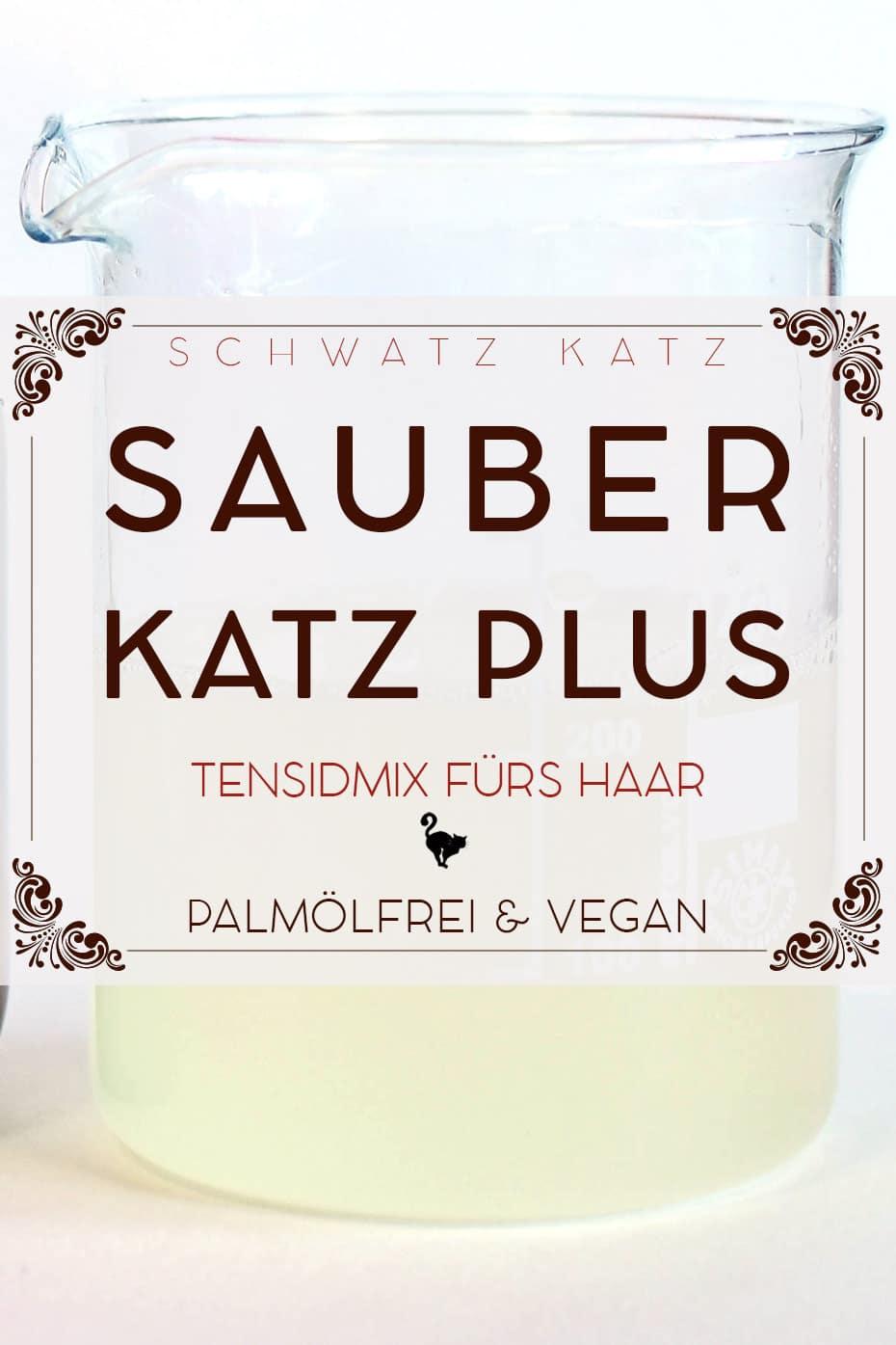 »Sauberkatz Plus« Tensidmischung für Haarshampoo | Schwatz Katz