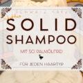 Juttas Solid Shampoo »Schaumkrone« mit SCI